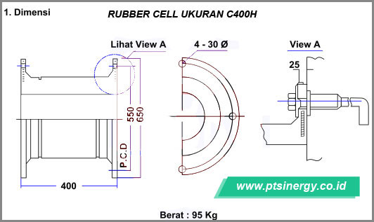Jual Rubber Fender Cell 08111888728