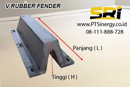 Jual rubber fender V 08111888728