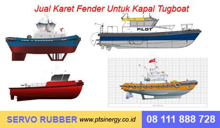 Jual Karet Fender Kapal Tugboat